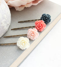 Load image into Gallery viewer, Floral Bobby Pins - BP1021