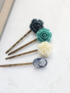 Flower Bobby Pins - BP1250