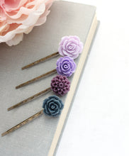 Load image into Gallery viewer, Flower Bobby Pins - BP1220