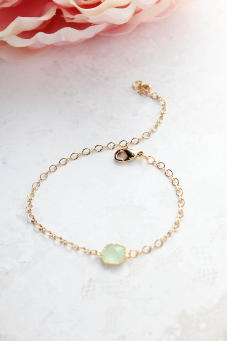 Dainty Gold Bracelet (11 Colors)