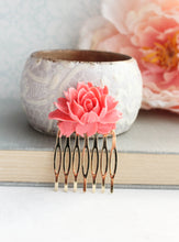Load image into Gallery viewer, Coral Pink Rose Comb - C2004 NEW