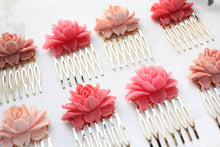 Load image into Gallery viewer, Hot Pink Rose Comb - C2003