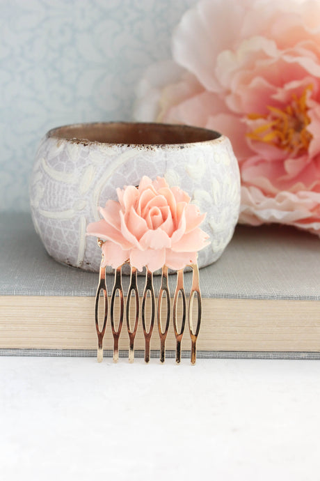 Peach Rose Comb - C2005 NEW