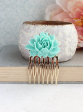 Load image into Gallery viewer, Teal Rose Comb - C2009 NEW