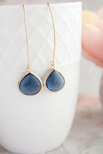 Load image into Gallery viewer, Candy Jewel Earrings  - Navy