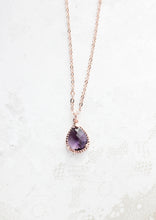 Load image into Gallery viewer, Sparkle Jewel Necklace - Amethyst