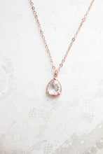 Load image into Gallery viewer, Sparkle Jewel Necklace - Clear NEW