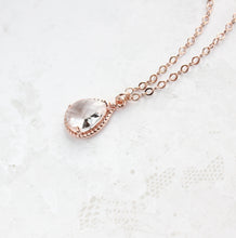 Load image into Gallery viewer, Sparkle Jewel Necklace - Clear
