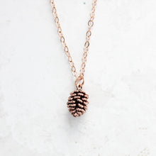 Load image into Gallery viewer, Dainty Pine Cone Necklace
