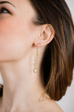 Load image into Gallery viewer, Cascading Bubble Earrings - Gold