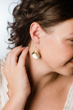 Load image into Gallery viewer, Calla Lily Earrings - Gold