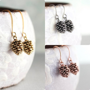 Rose Gold Pinecone