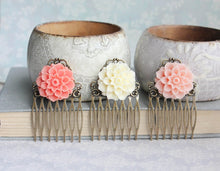 Load image into Gallery viewer, Dahlia Hair Comb - C1064