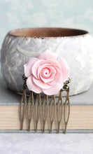 Load image into Gallery viewer, Light Pink Rose Comb - C2001