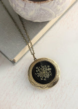 Load image into Gallery viewer, Queen Annes Lace Locket