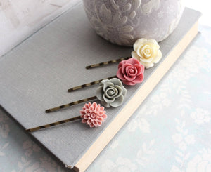 Rose Bobby Pins - BP1015