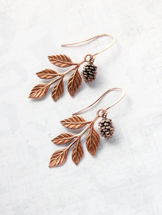 Rustic Charm Earrings