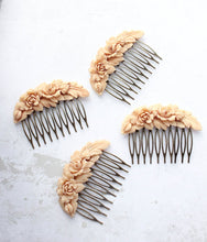 Load image into Gallery viewer, Floral Swag Hair Comb - C2002