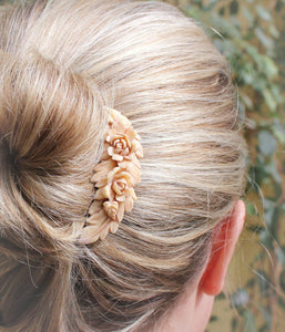 Floral Swag Hair Comb - C2002
