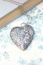 Load image into Gallery viewer, Large Heart Locket - Silver