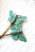 Load image into Gallery viewer, Butterfly Bobby Pins - 2 pieces