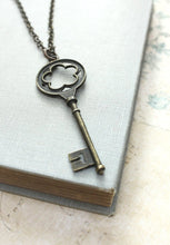 Load image into Gallery viewer, Skeleton Key Necklace
