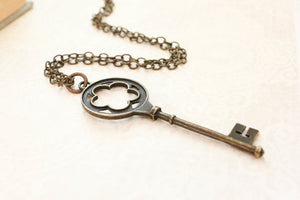 Skeleton Key Necklace