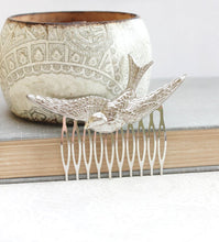 Load image into Gallery viewer, Bird Comb - Silver