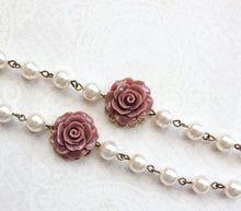 Load image into Gallery viewer, Dusty Rose Pink Bracelet