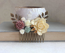 Load image into Gallery viewer, Bridal Hair Comb - C1041