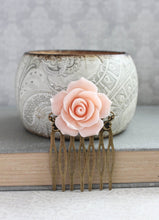 Load image into Gallery viewer, Pink Rose Comb - C1075