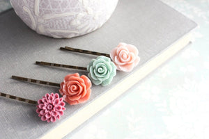 Flower Bobby Pins - BP1006