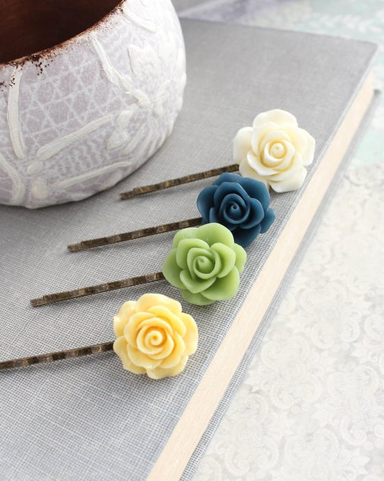 Rose Bobby Pins - BP1211