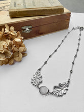 Load image into Gallery viewer, White Oak Leaf Necklace - Five Oaks Fundraiser Collection