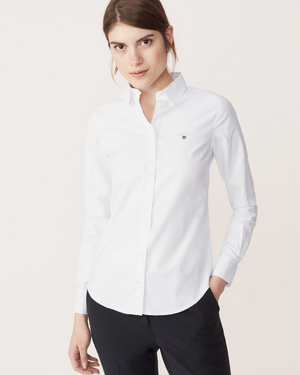 Gant - Stretch Oxford Solid Slim