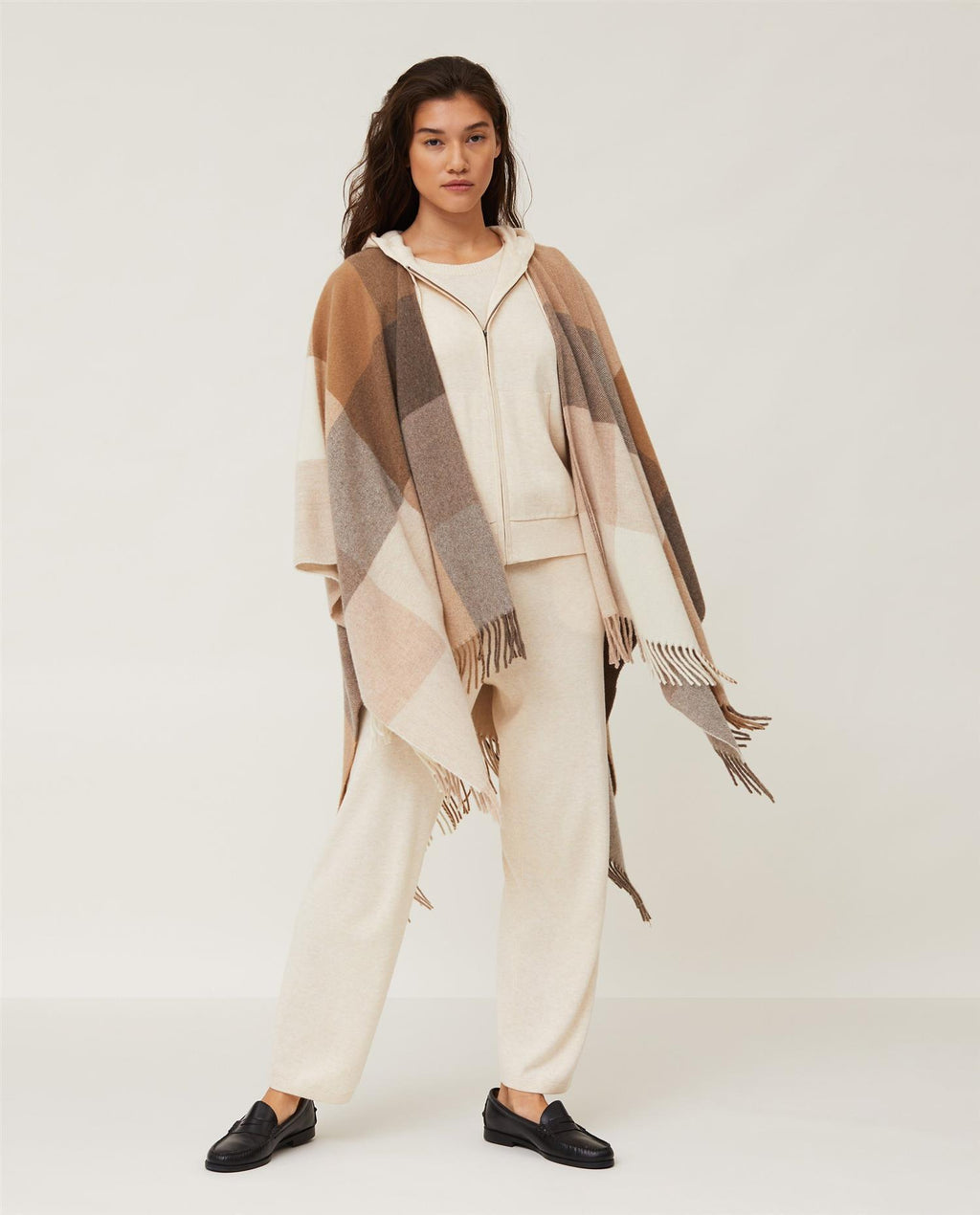 Palma Recycled Wool Poncho