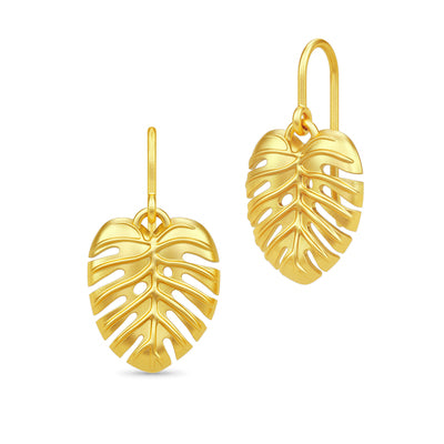 Philo leaf earring