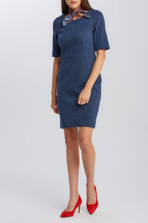 D1 Herringbone Jersey Dress