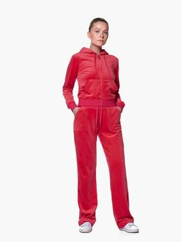 Juicy Couture - Del Ray Classic Velour - Bukse