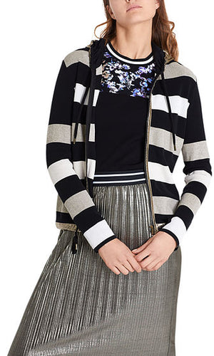 Stripe Jacket w/Gold