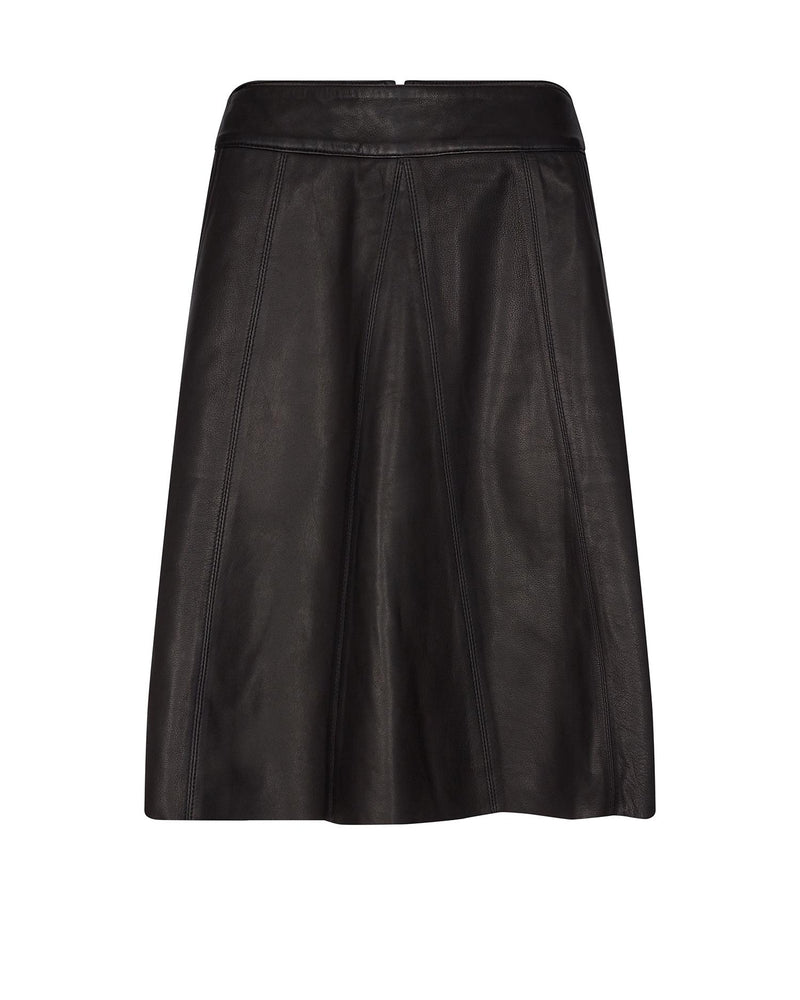 Adalyn Leather Skirt