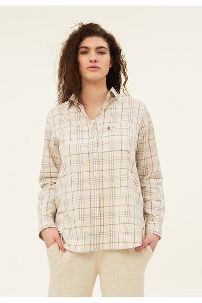 Isa Check Organic Cotton Flann