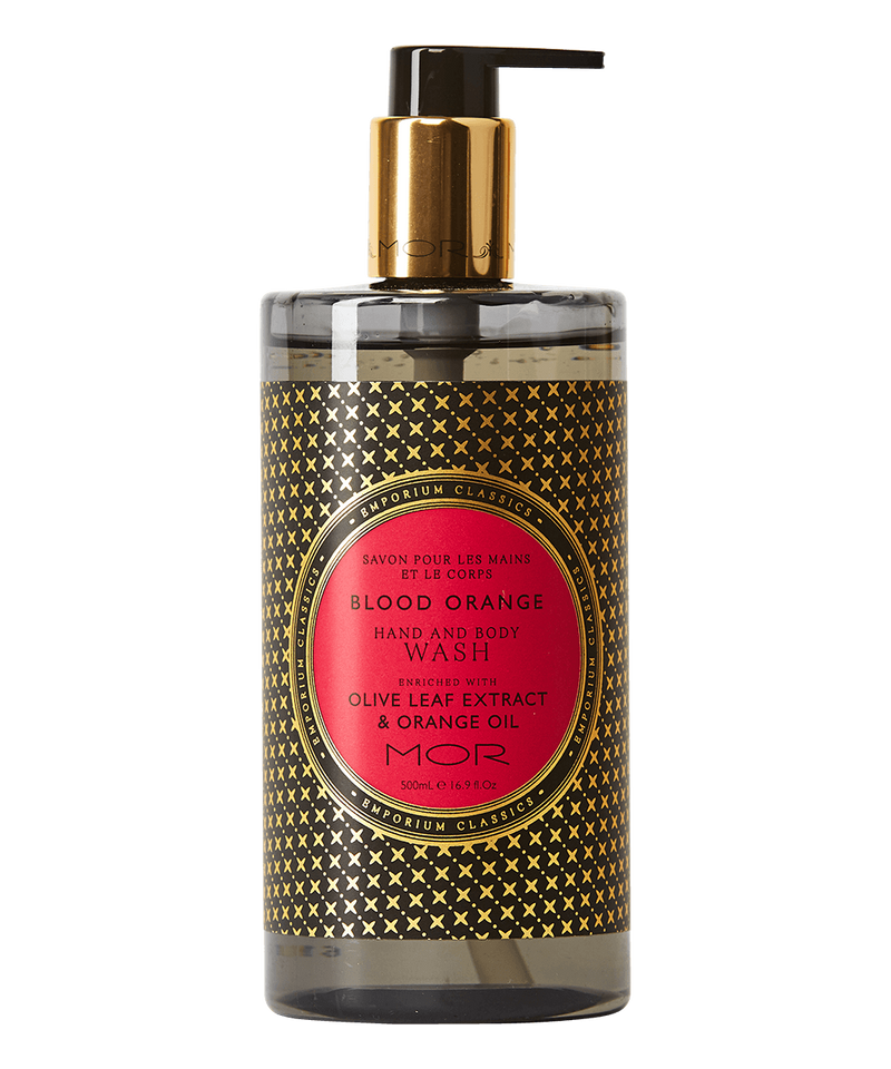 MOR - Hand & Body Wash Blood Orange