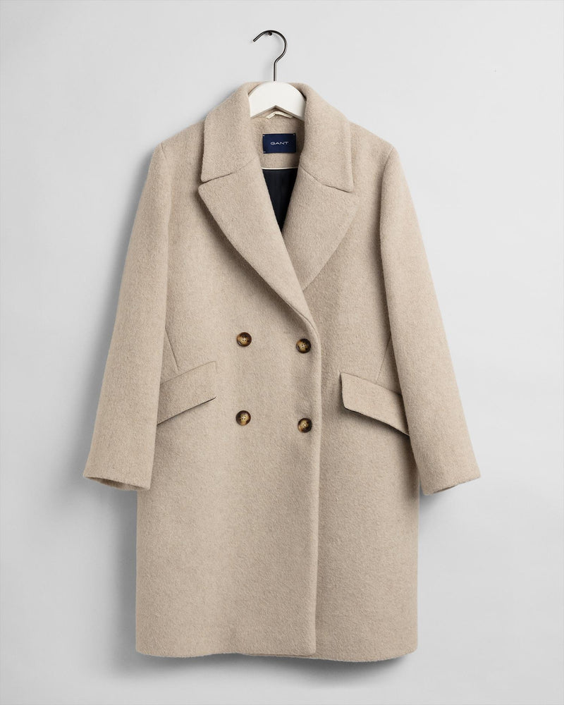 D2 Oversized Wool Blend Coat