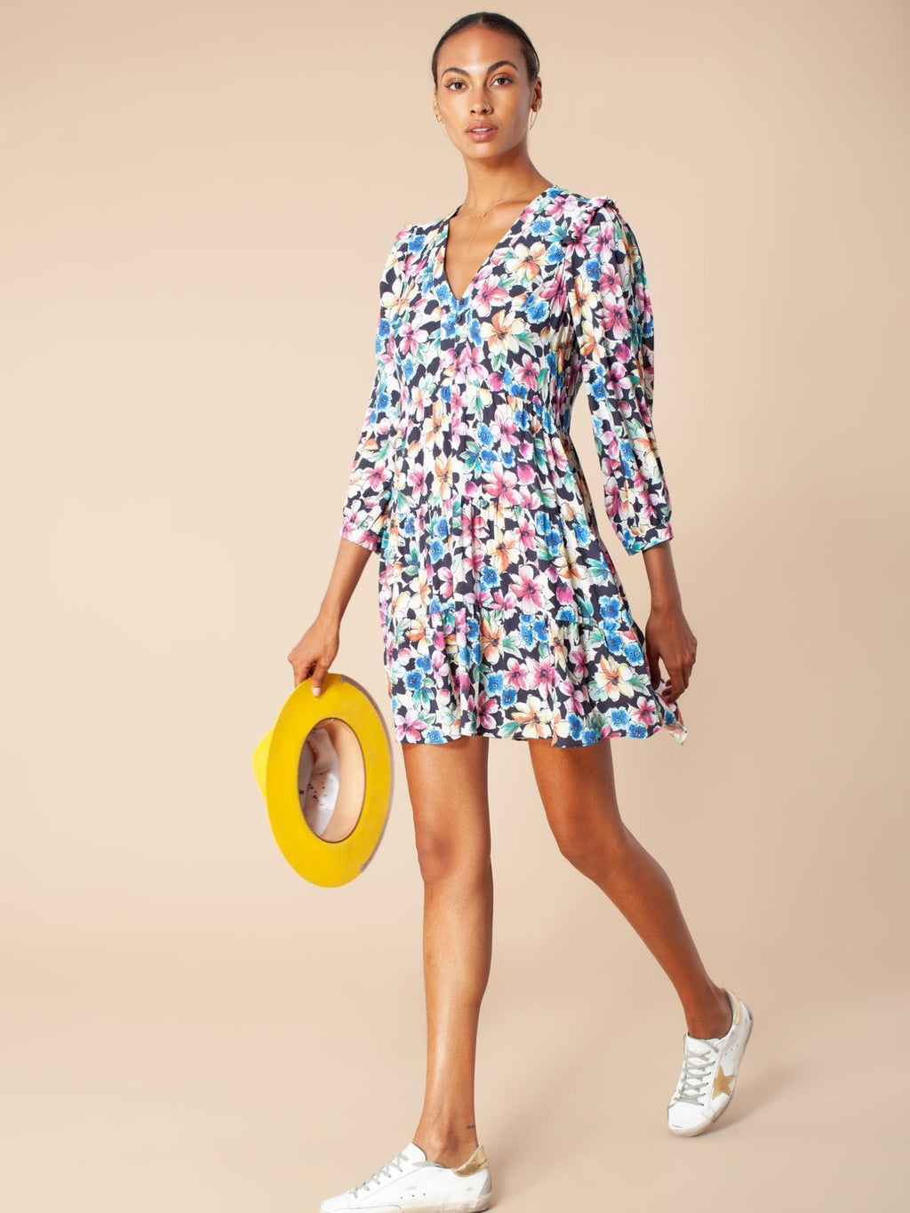 Hale Bob Dress V Neck