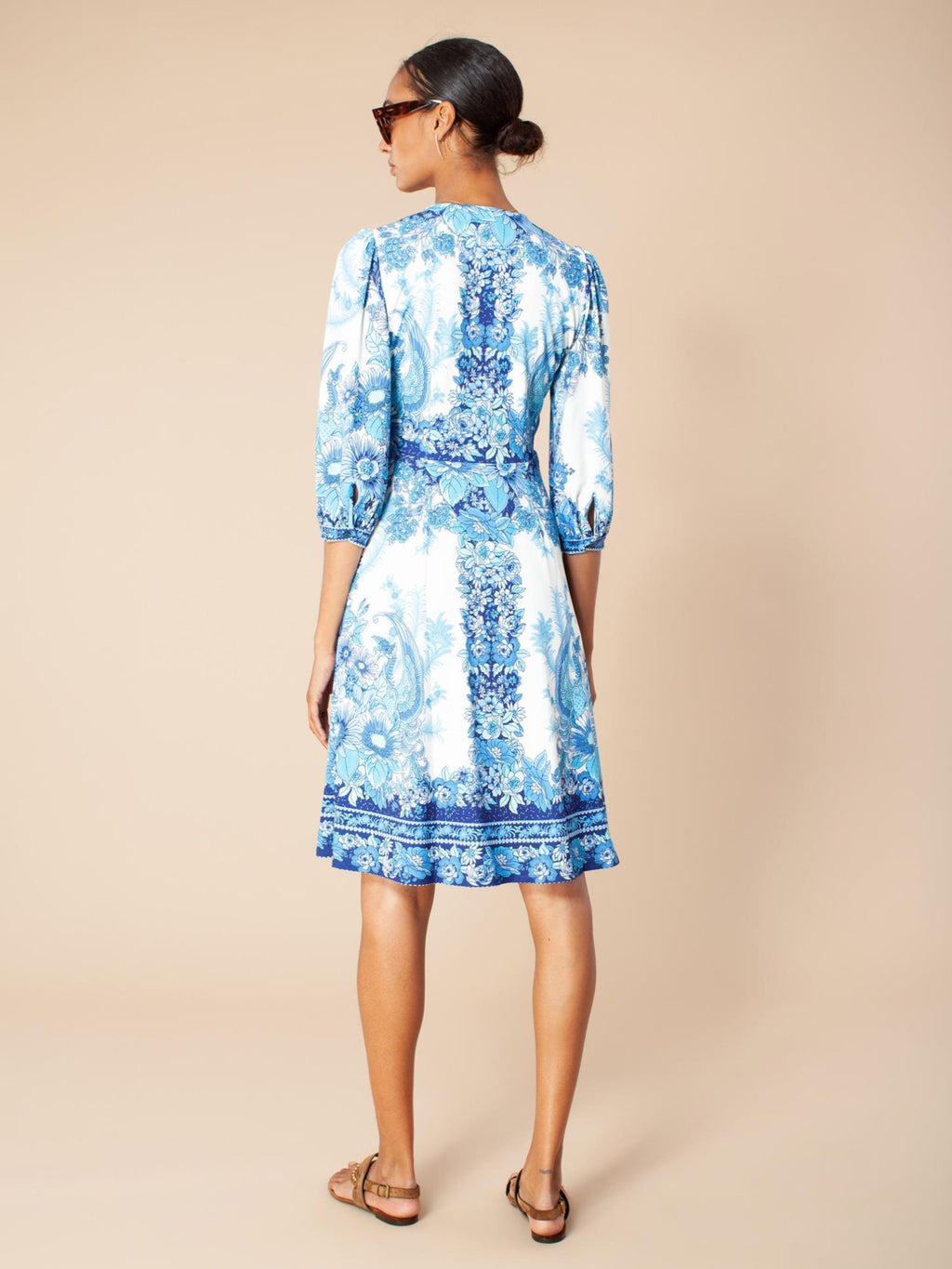 Hale Bob Dress below the knee