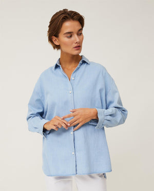 Edith Denim Tengel Shirt