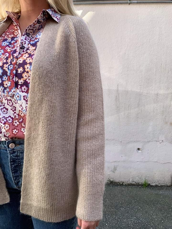 Belty Cardigan Mohair
