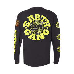 Black and Yellow Airbrush Long Sleeve