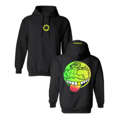 Tongue Out Pullover Hoodie